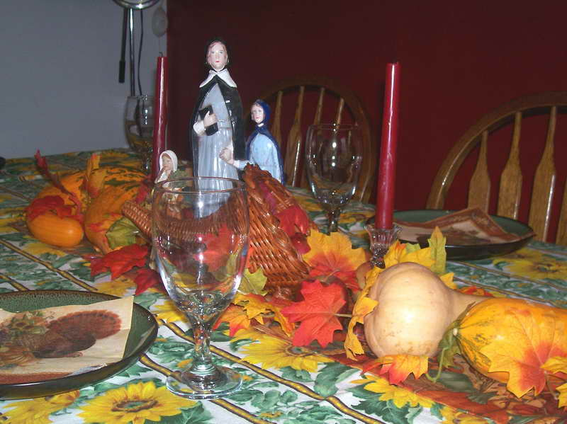 Thanksgiving table decoration ideas Simple thanksgiving table decorations